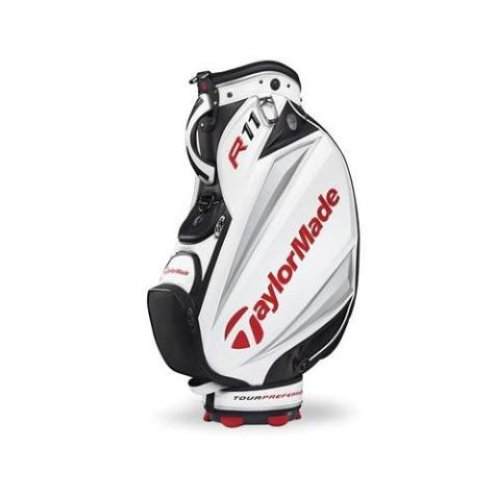 new taylormade 2011 tmx retail staff bag white black