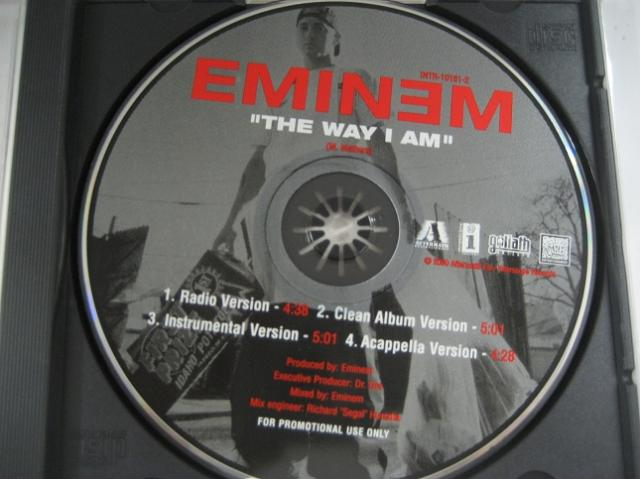 Eminem - The Way I Am 4trk Promo Cd Cs83