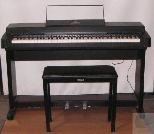 Yamaha clp 250 clavinova digital piano electric for Used yamaha clavinova cvp for sale