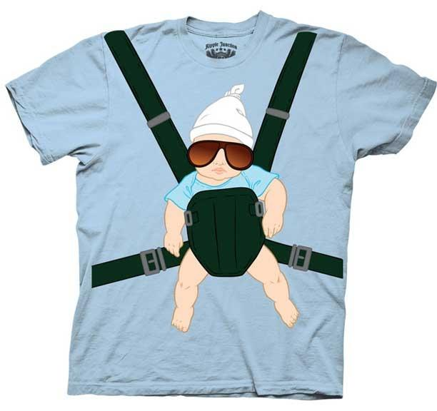 Hangover Baby Carrier Shirt Alan Tee Costume