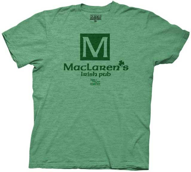 New-Officially-Licensed-How-I-Met-Your-Mother-Maclarens-Pub-Adult-T-Shirt