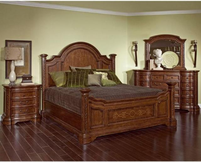 broyhill furniture lenora poster bed bedroom set or