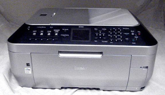 Canon pixma mx860 all in one inkjet printer ebay for Canon printer templates