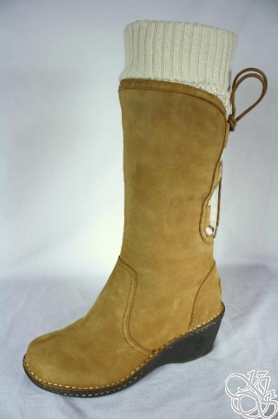 ugg australia skylair chestnut wedge heel womens winter