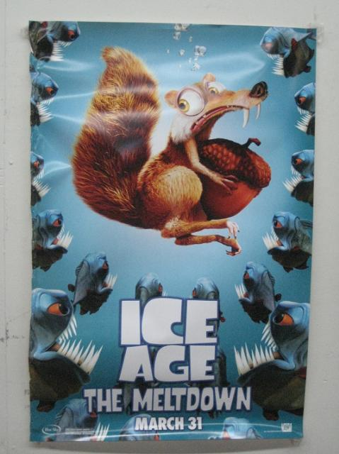 ice age - the meltdown march 31 27x40 poster p2145 *free u.