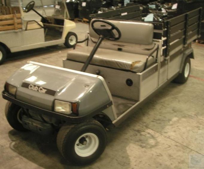 2004 ingersoll rand club car carryall 6 gasoline utility. Black Bedroom Furniture Sets. Home Design Ideas