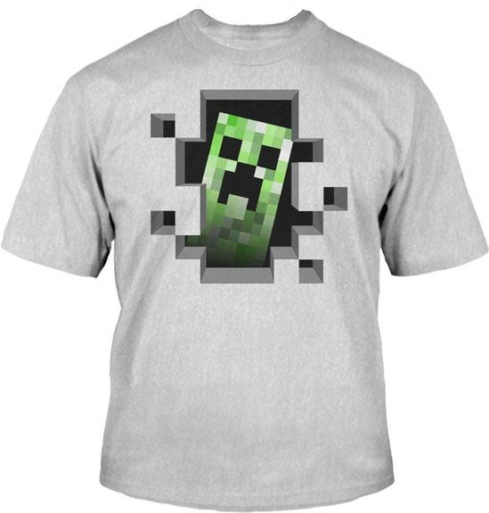 Minecraft-Creeper-Inside-Licensed-Youth-T-Shirt-Tee-XS-S-M-L-XL