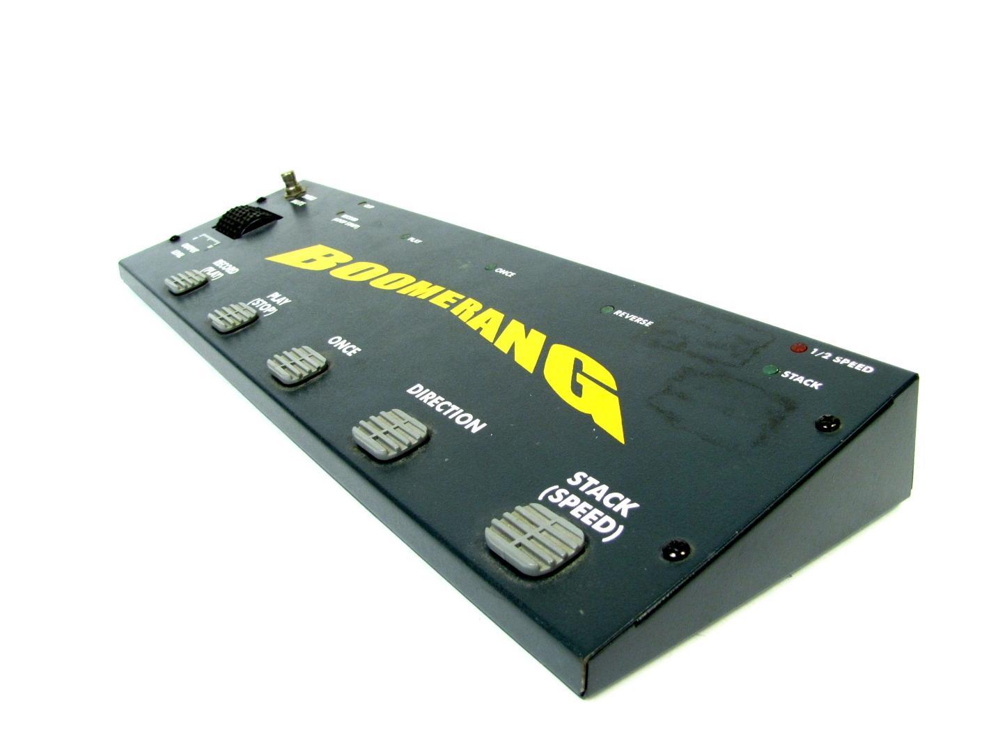 boomerang original looper guitar effects pedal phrase sampler ebay. Black Bedroom Furniture Sets. Home Design Ideas