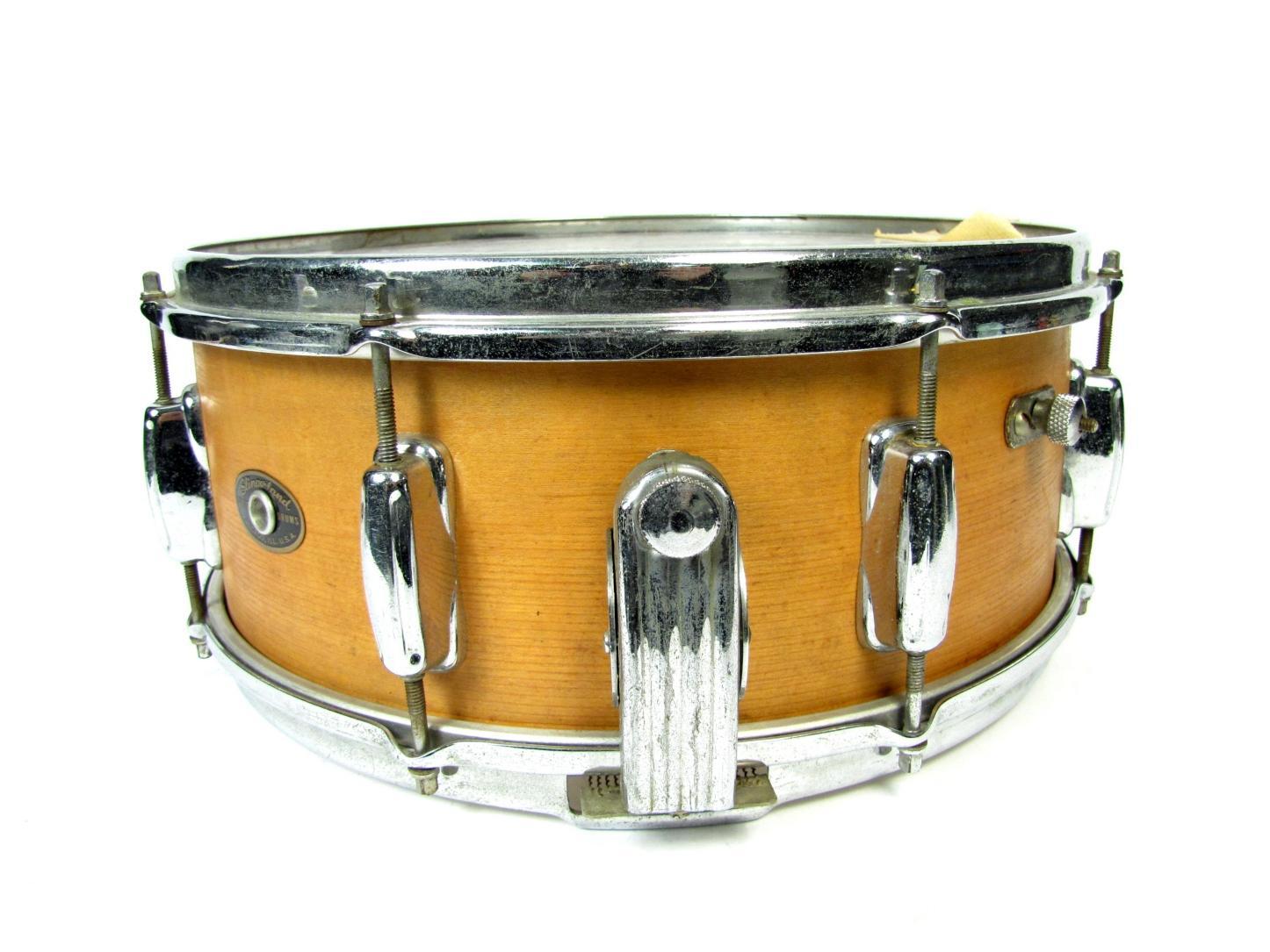 Jazz Snare Drum Head : vintage slingerland wood snare jazz drum 6 x 14 mel torm remo weather king ebay ~ Vivirlamusica.com Haus und Dekorationen