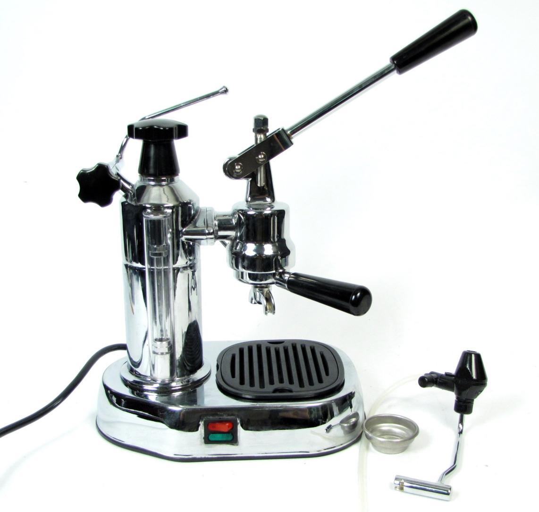 la pavoni 8cup europiccola millennium series lever style espresso machine chrome ebay. Black Bedroom Furniture Sets. Home Design Ideas