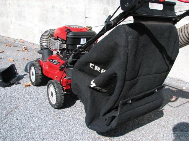 Craftsman Yard Vacuum 4 5 : Craftsman hp yard vacuum in system mulcher chipper