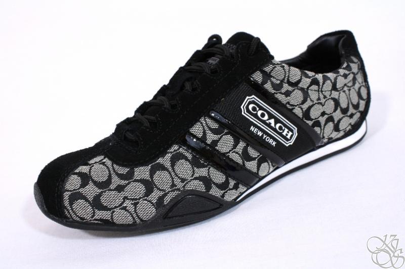 COACH Remonna Signature C Logo Black White / Black ...
