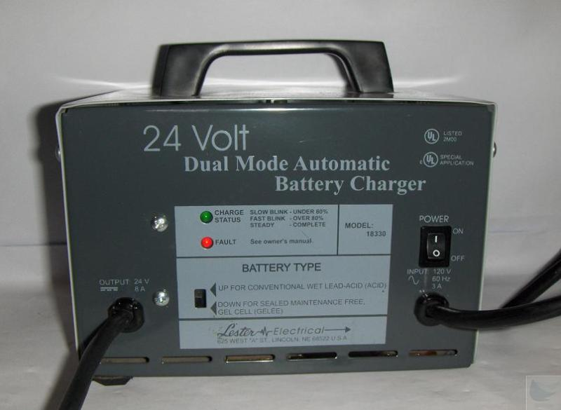 Lester Electrical Model 18330 24 Volt Daul Mode Automatic