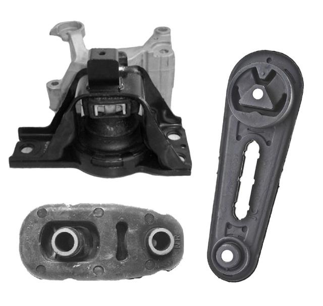 Engine Motor Mount And Transmission Mount Kit 3pc New 2007 2011 Sentra 2 0l A T Ebay