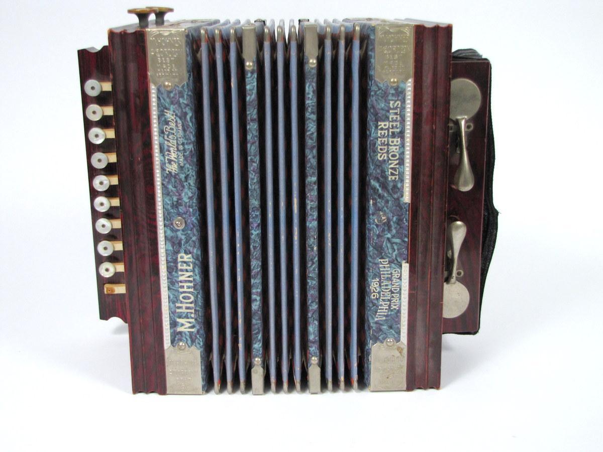antique accordion m hohner philadelphia grand prix 1926 vtg squeeze box germany ebay. Black Bedroom Furniture Sets. Home Design Ideas