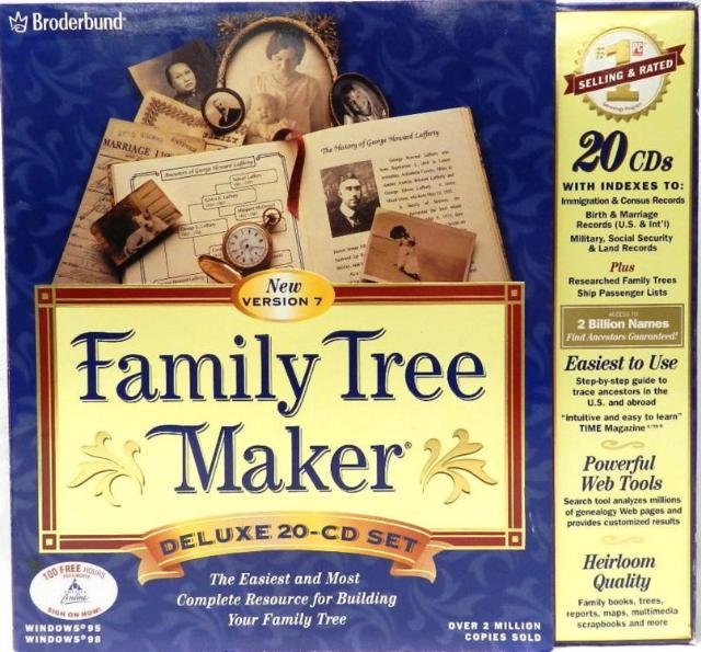 Family Tree Maker Deluxe 2005 Honda
