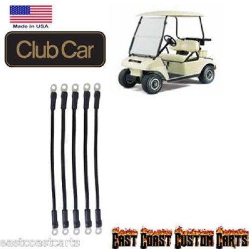 Detalles acerca de Club Car Ds 48 voltios Carrito De Golf # 4 indicador de  batería Cable Kit (5)- mostrar título original