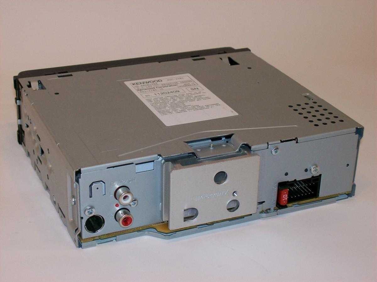kenwood kdc 248u car radio cd player am fm usb w wiring harness remote