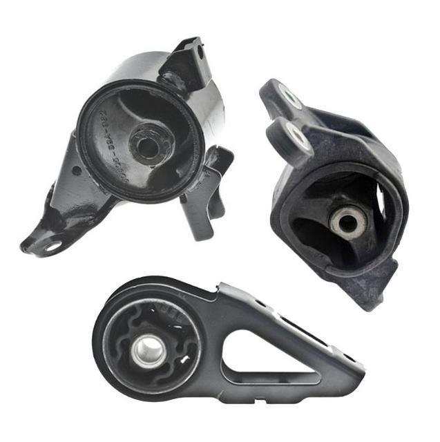 Front /& Rear Motor Mount 2PCS Set for 2007-2008 Honda FIT 1.5L Manual Trans