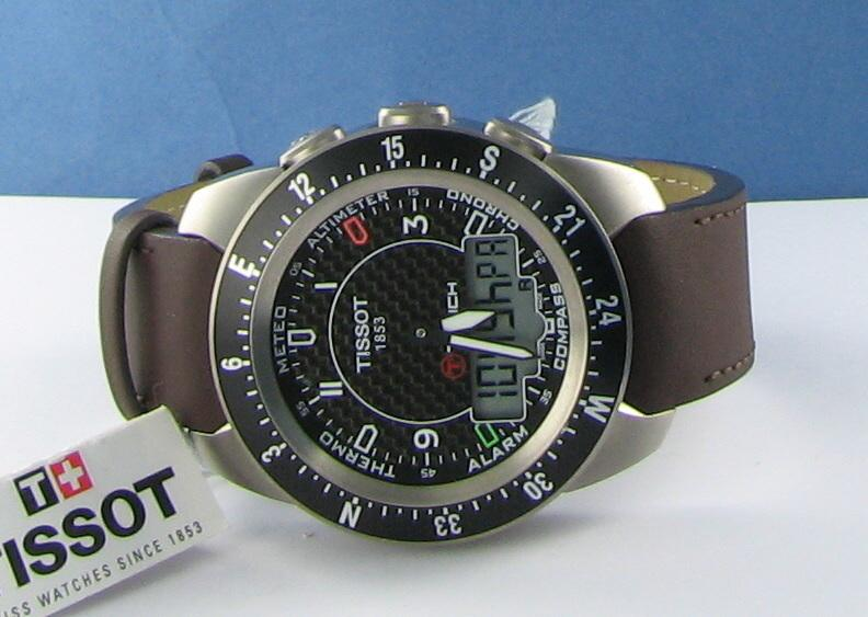 tissot t touch expert titanium manual