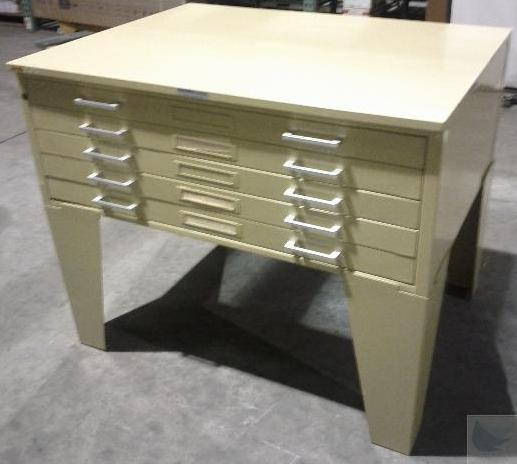 Hamilton Industries 5 Drawer Blueprint Architect Flat File