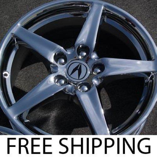 "Set Of 4 New Chrome 17"" Acura RSX OEM Factory Wheels Rims"