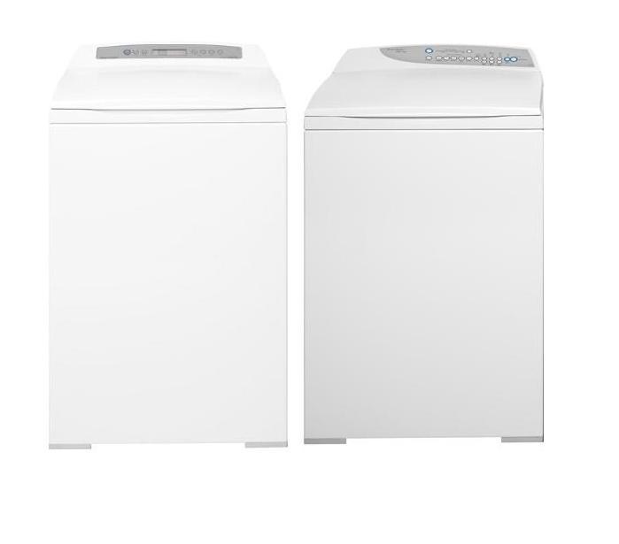 fisher paykel white top load washer and electric dryer set 1800 value ebay. Black Bedroom Furniture Sets. Home Design Ideas