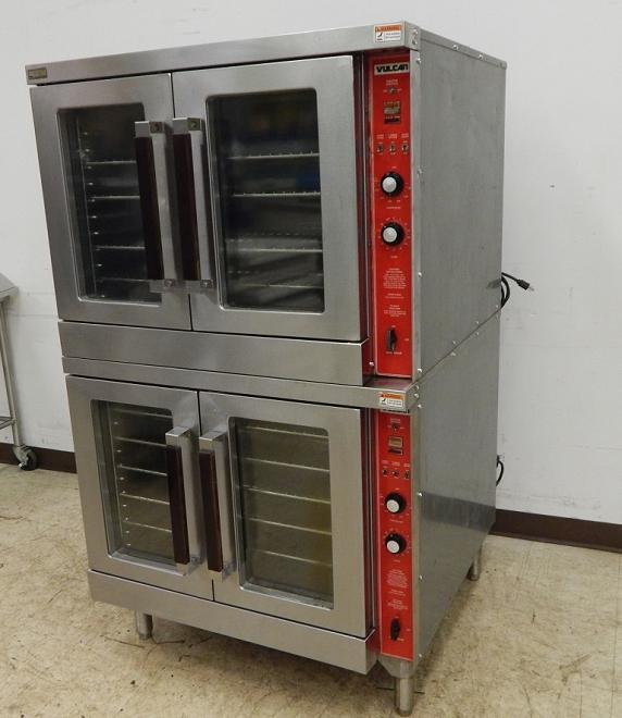 Vulcan Double-Stack Gas Convection Oven, Model GC04S