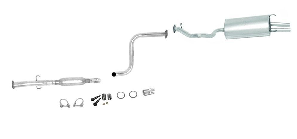 92 93 Honda Accord Ex Se Muffler Exhaust Pipe Pipe System
