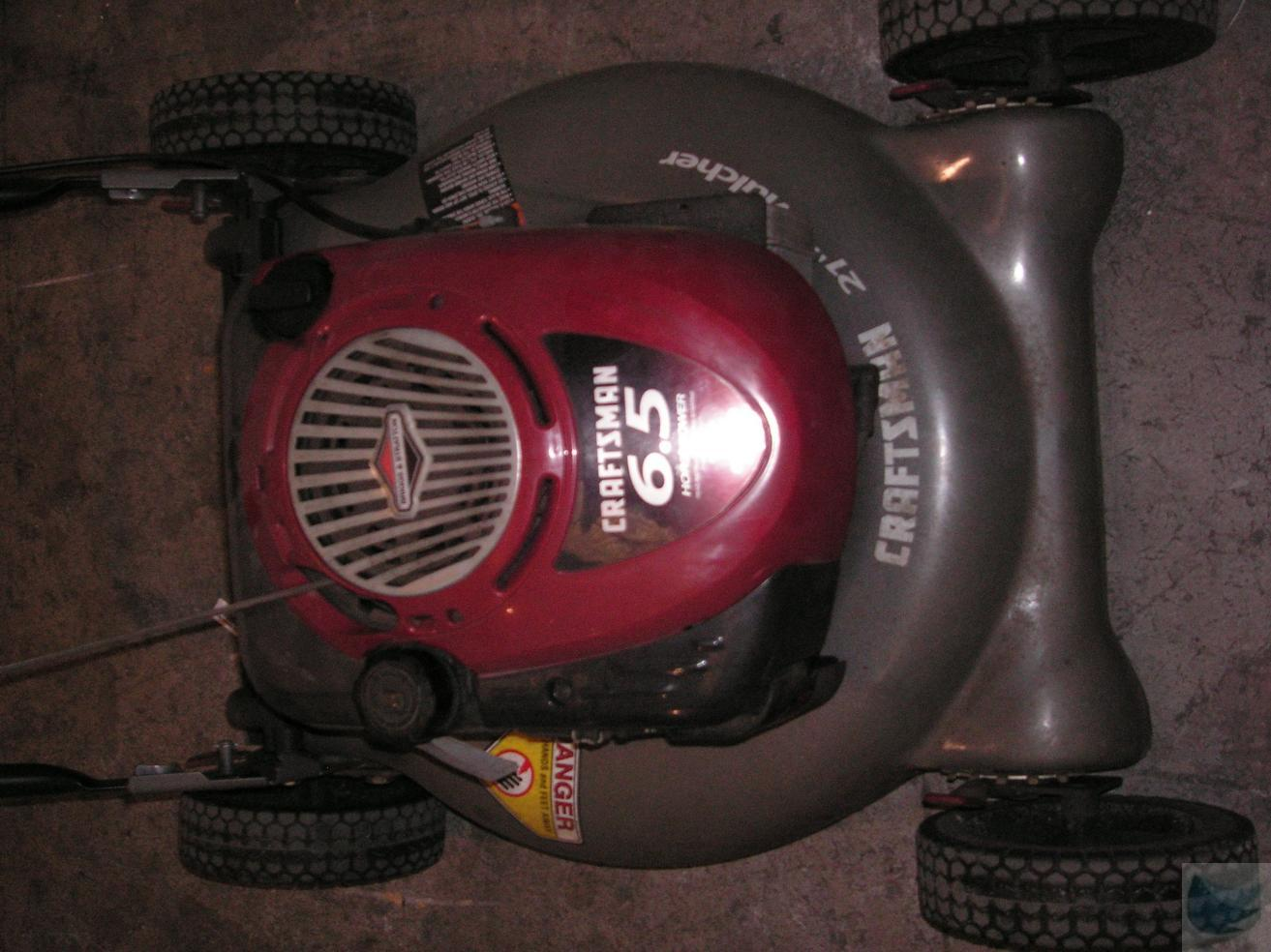 Sears Craftsman Model 917 Mower : Sears craftsman inch lawn mower mulcher model
