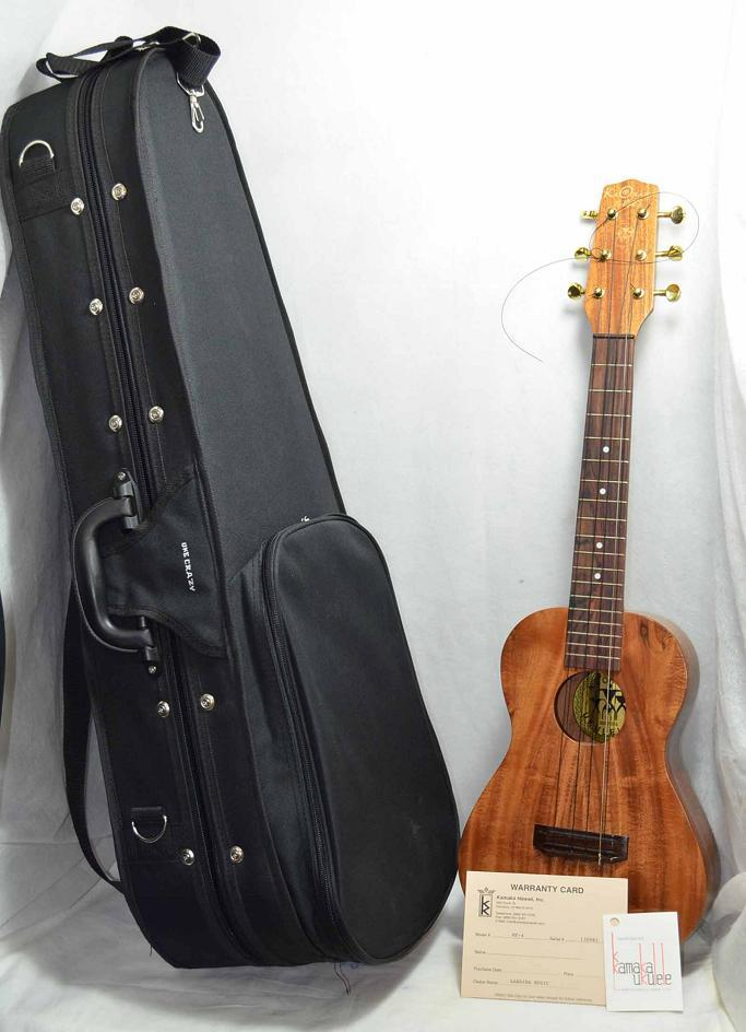 ka 39 ohana ka ohana tenor baritone hawaii 28 6 string ukulele in hard case a32774 ebay. Black Bedroom Furniture Sets. Home Design Ideas