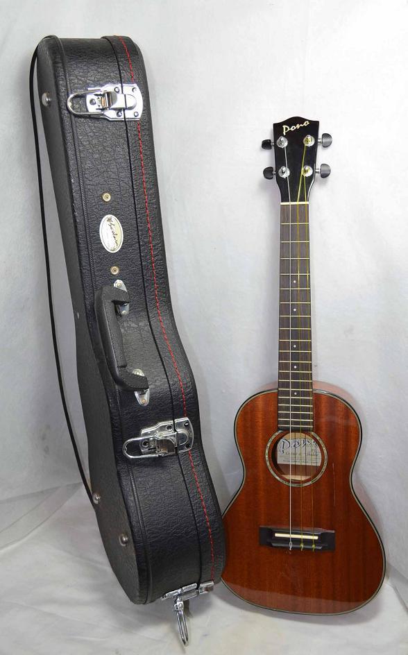 pono 26 tenor ukulele by ko 39 olau in hard case a32765 ebay. Black Bedroom Furniture Sets. Home Design Ideas