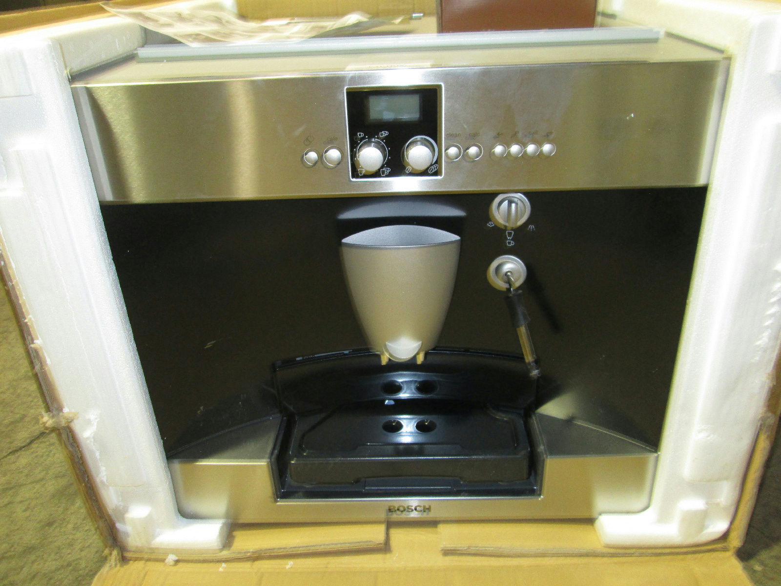 Built In Coffee Maker Bosch : Bosch TKN68E75UC Benvenuto Series Fully Automatic Built in Coffee Machine USD 2050 eBay