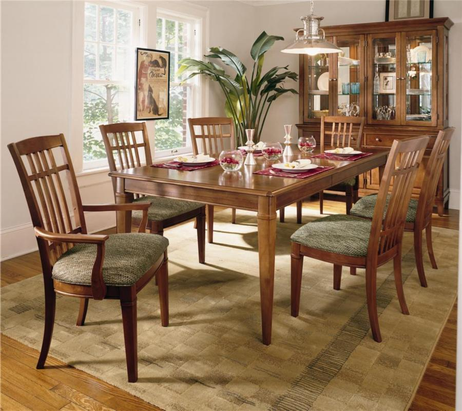 Thomasville Cherry Dining Room Set: Thomasville Furniture Bridges 2.0 6 Pc Dining Chairs Set