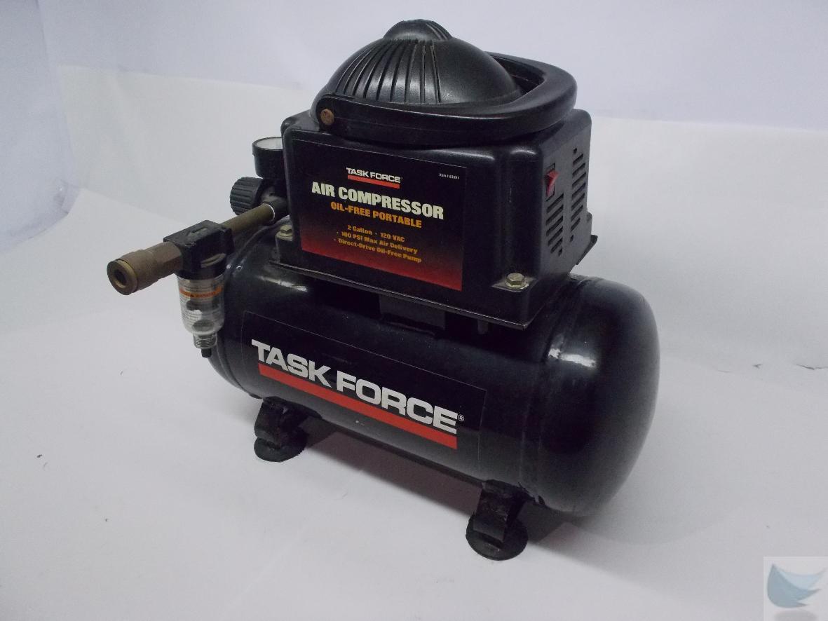 task force air compressor #74362C