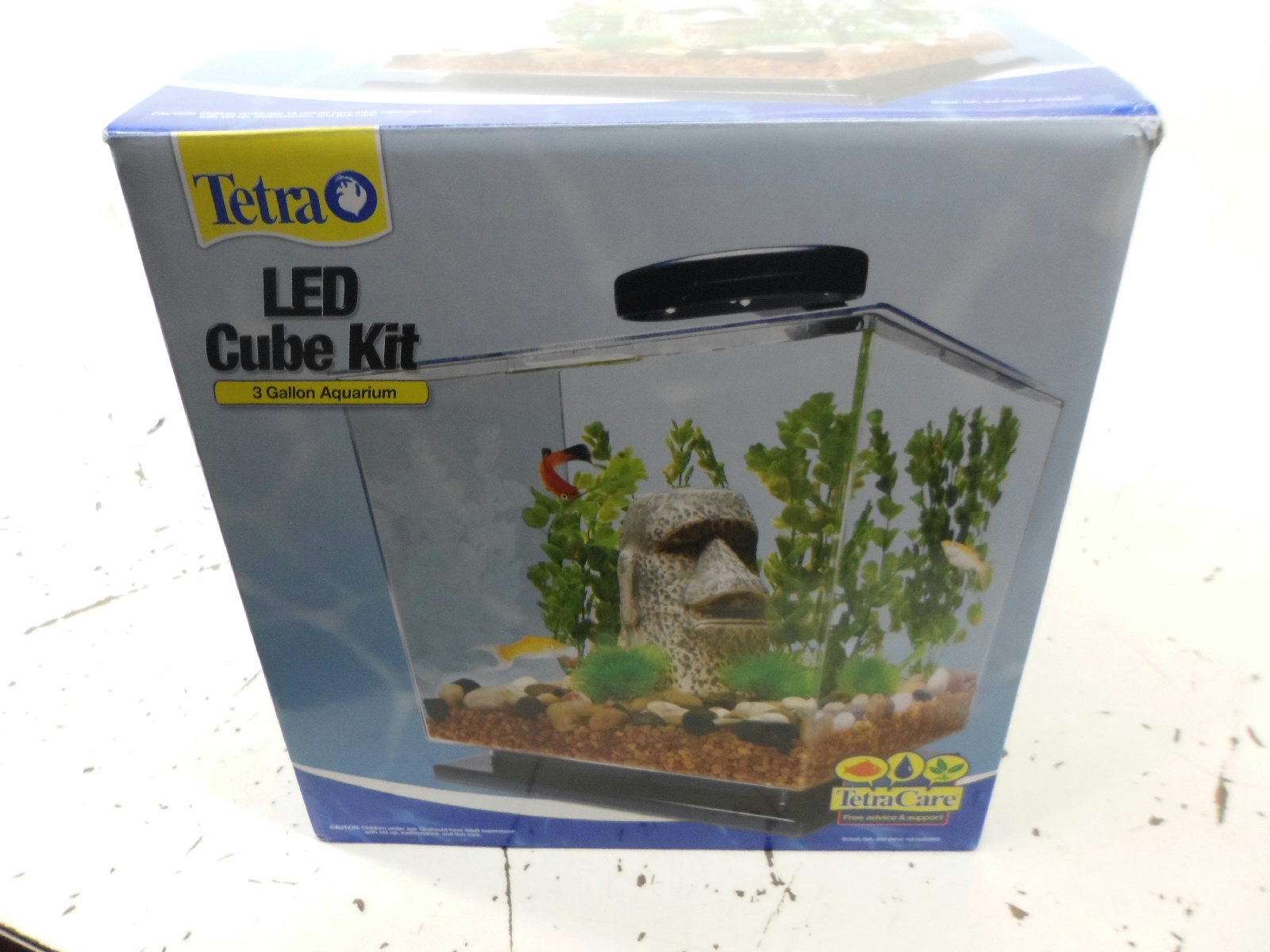 Tetra 3 gallon fish tank with led lamp 50 value for 50 gallon fish tank