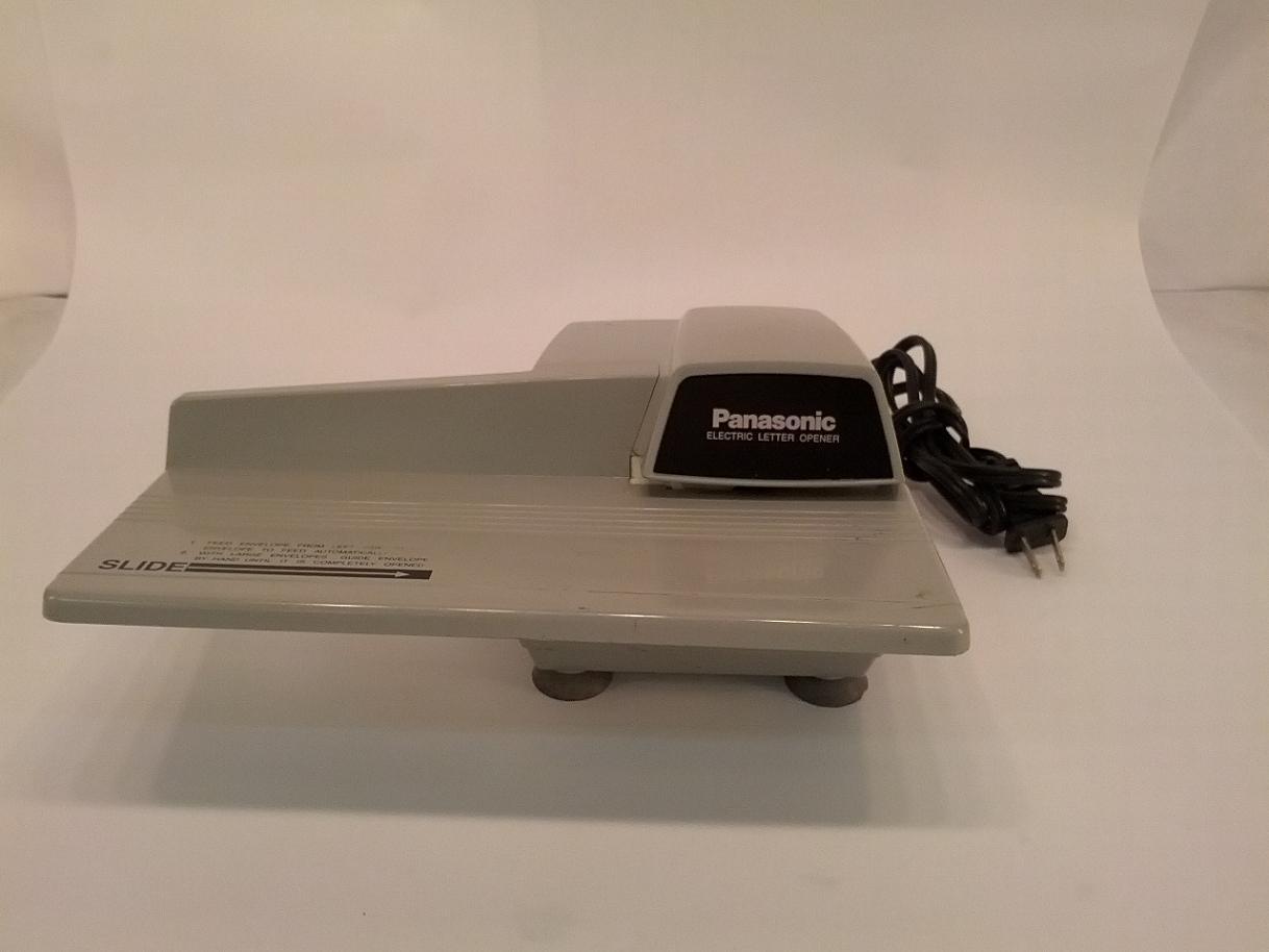 Panasonic bh 752 auto automatic letter opener compact size for Automatic electric letter opener