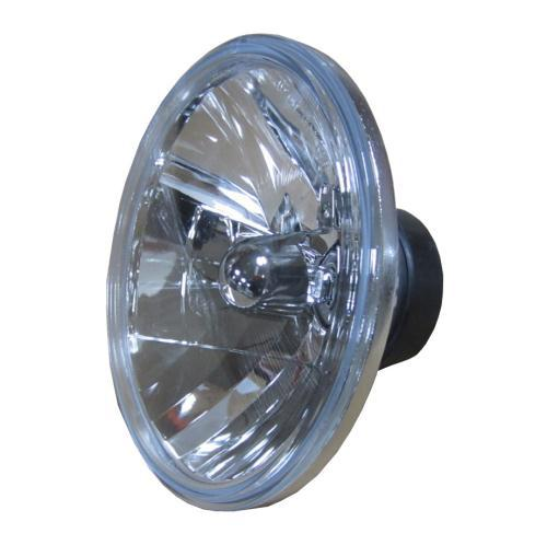7 inch round universal halogen headlight light lamp. Black Bedroom Furniture Sets. Home Design Ideas