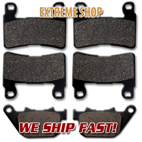 Rear Brake Pads For Harley Davidson XR 1200 X 2010
