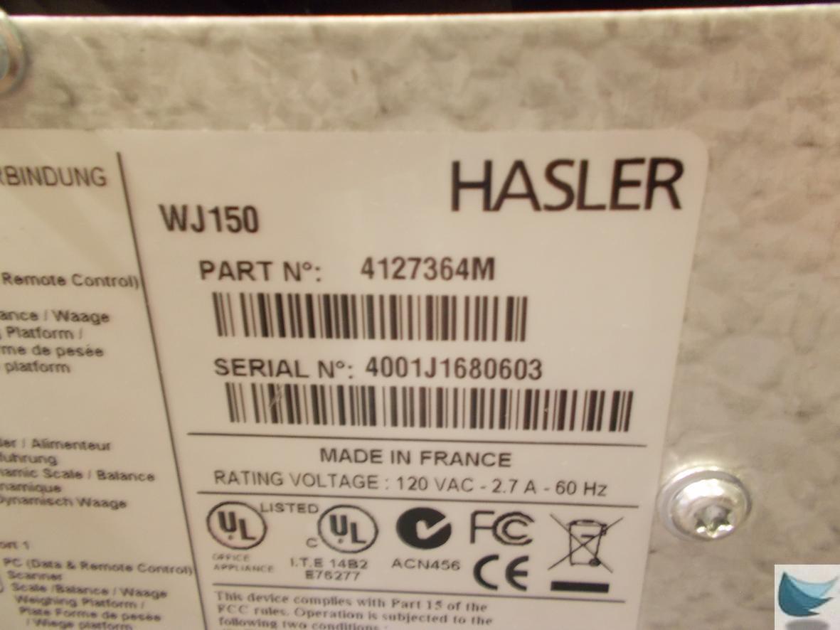 hasler mailing machine