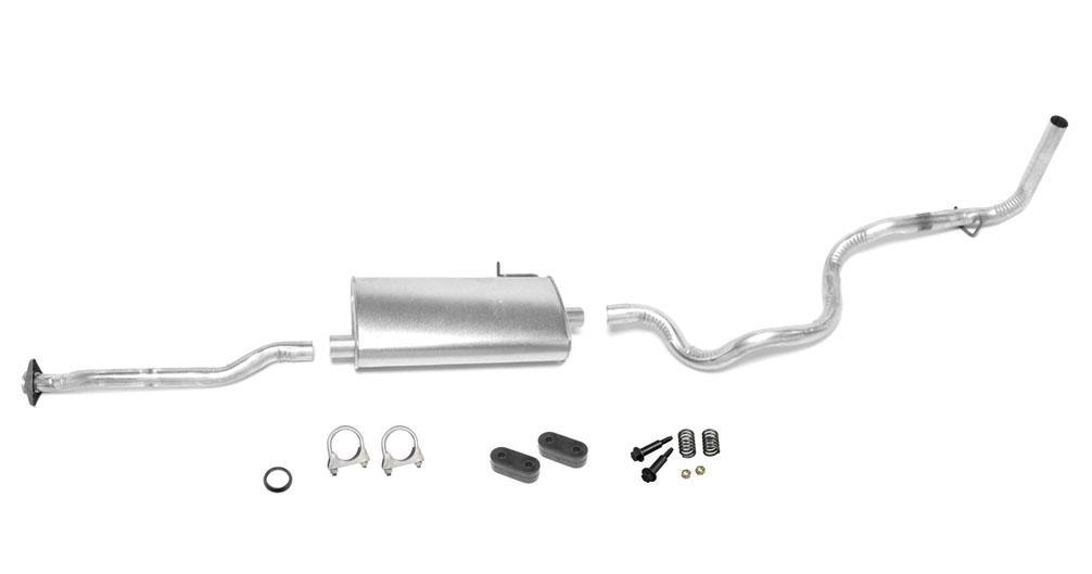 95 97 Mazda B2300 Ranger 2 3 3 0 4 0 With 125 Wb Muffler
