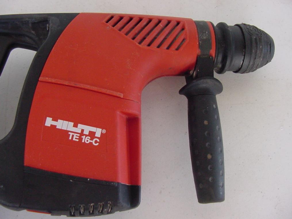 hilti te 16 c 16c rotary hammer drill ebay. Black Bedroom Furniture Sets. Home Design Ideas