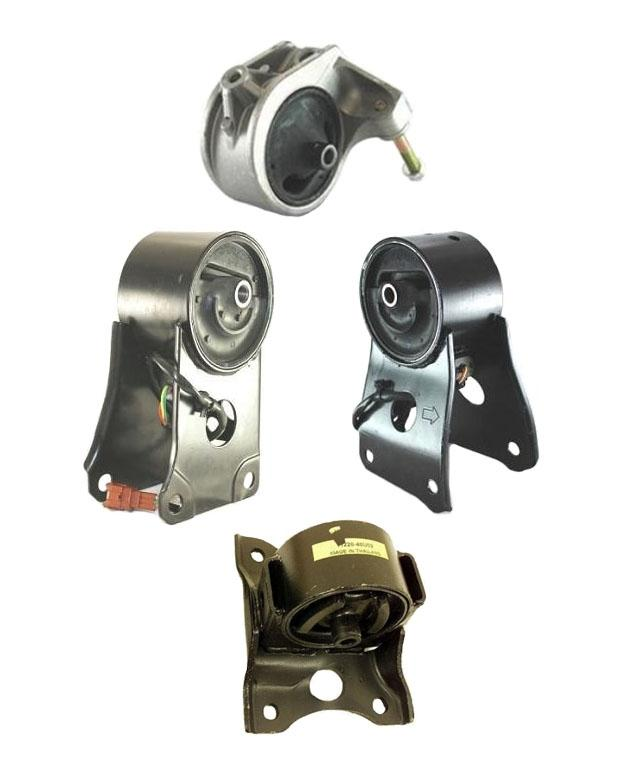 a t engine and transmission mounts 4pc kit for nissan. Black Bedroom Furniture Sets. Home Design Ideas