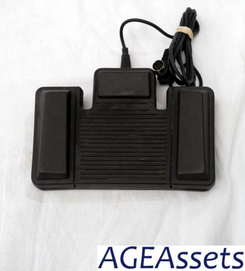 dictation machine with foot pedal