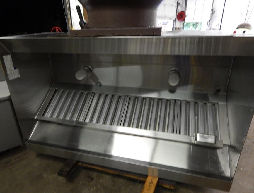 Used Restaurant Vent Hoods ~ Captiveaire quot exhaust hood with fan