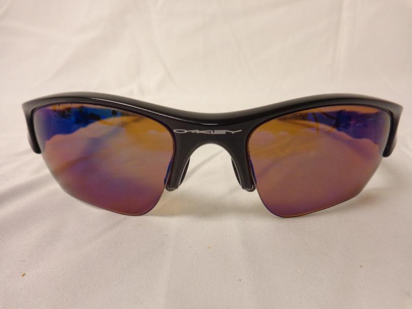 Oakley men 039 s flak jacket polarized xlj fishing for Oakley polarized fishing sunglasses