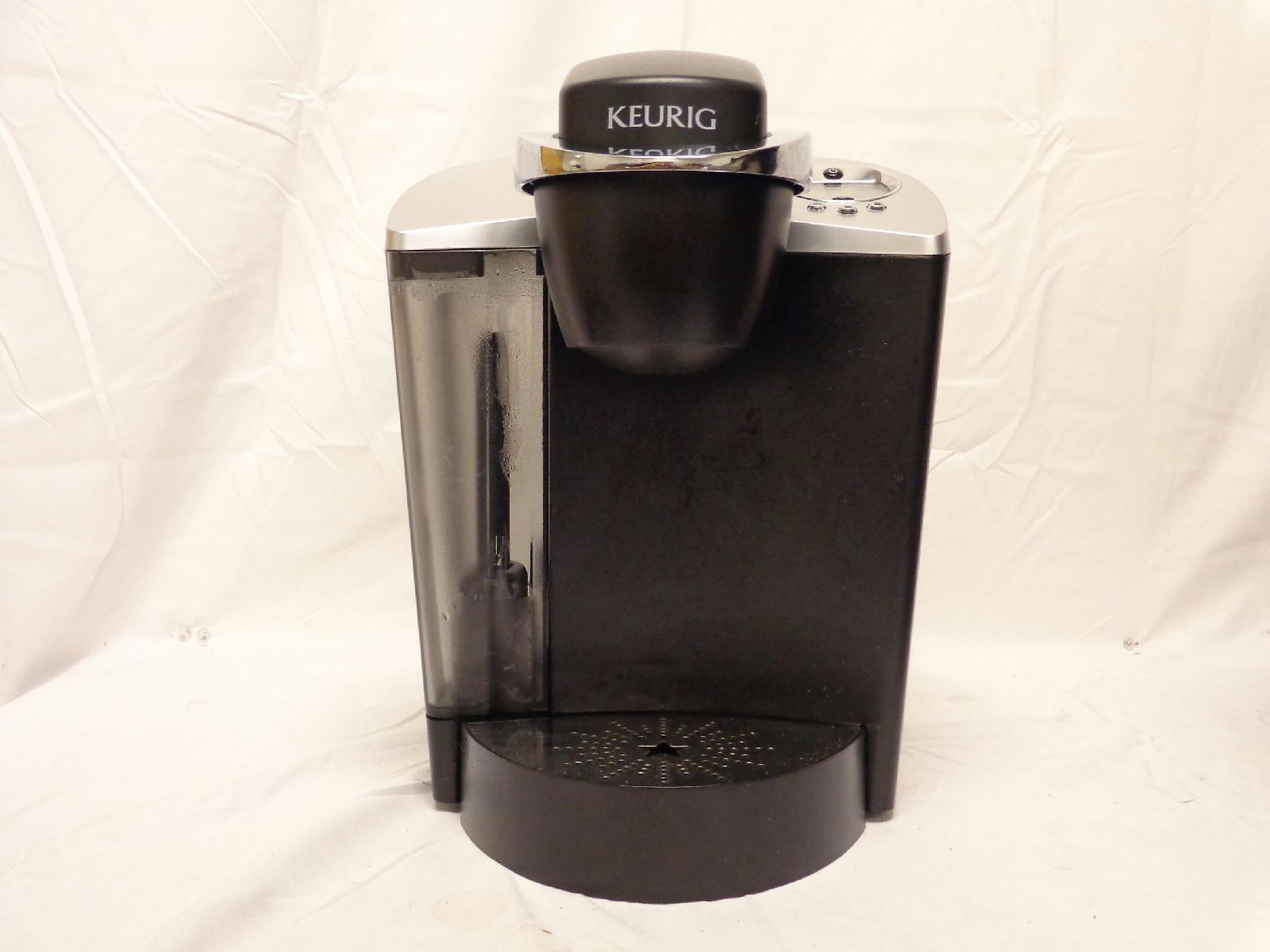 Keurig B60 Special Edition Brewing System 8 Cups Coffee Maker Black Silver eBay