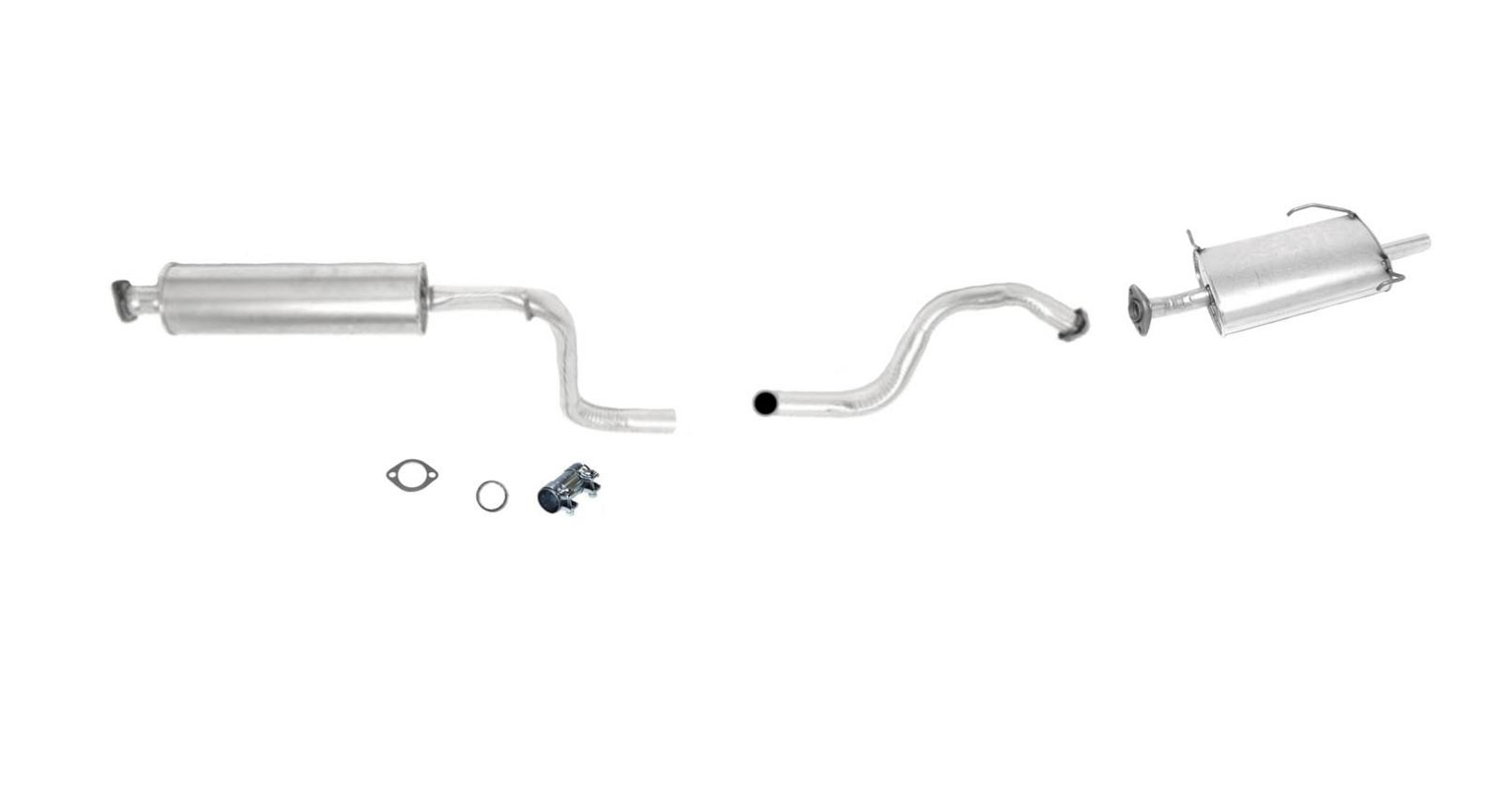 muffler exhaust pipe system fits 97 99 maxima 97