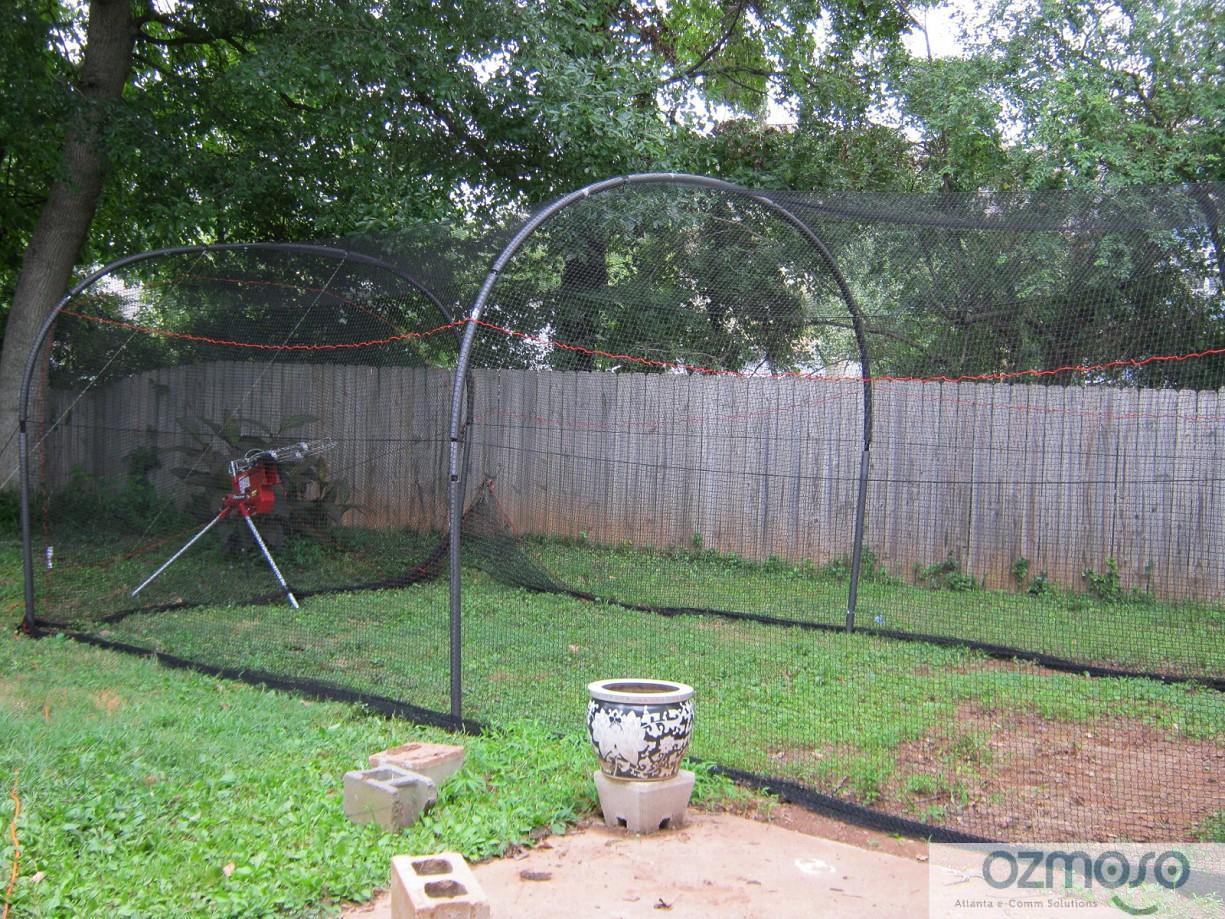 39 home backyard softball baseball bp batting practice cage net ebay