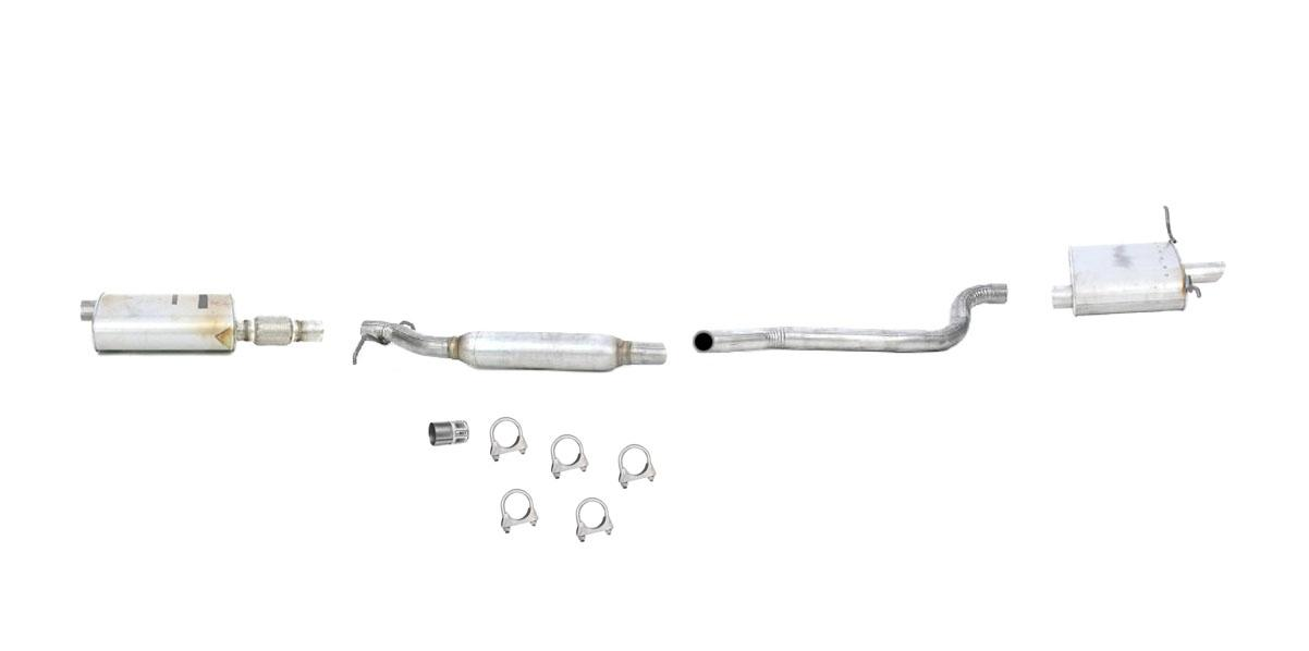 04 06 Pacifica Front Amp Rear Muffler Exhaust Pipe System